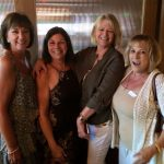 Linda Ertassi Berry, Chris Noero Powell, Nancy Eichelberger Roche, Diane Maniates Jones